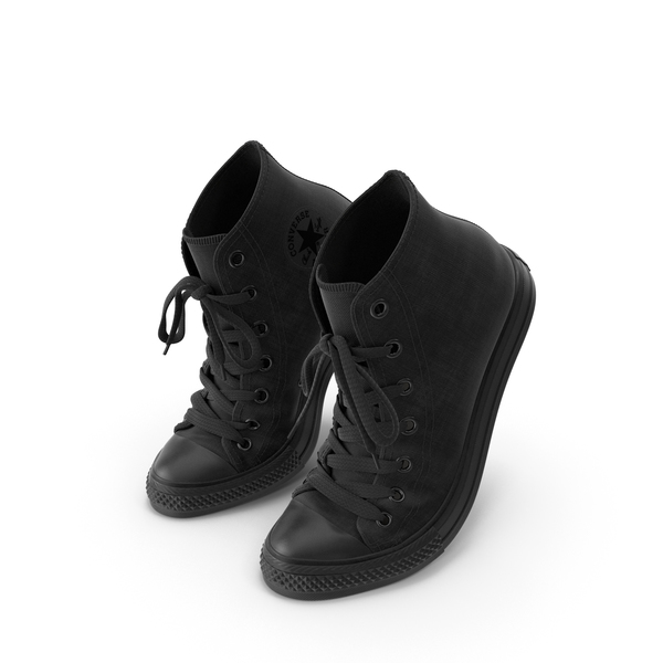 High Top Sneakers: Basketball Shoes Bent Chuck Taylor PNG & PSD Images