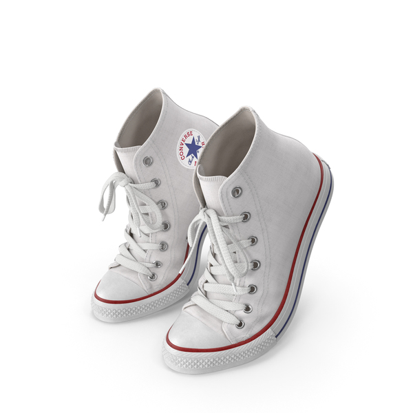 High Top Sneakers: Basketball Shoes Bent White PNG & PSD Images
