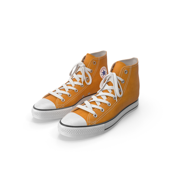 Basketball Shoes Orange PNG & PSD Images