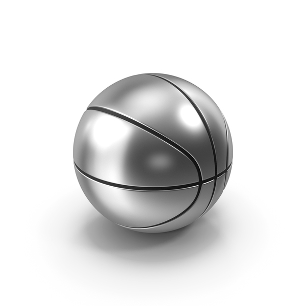 Ball: Basketball Silver PNG & PSD Images