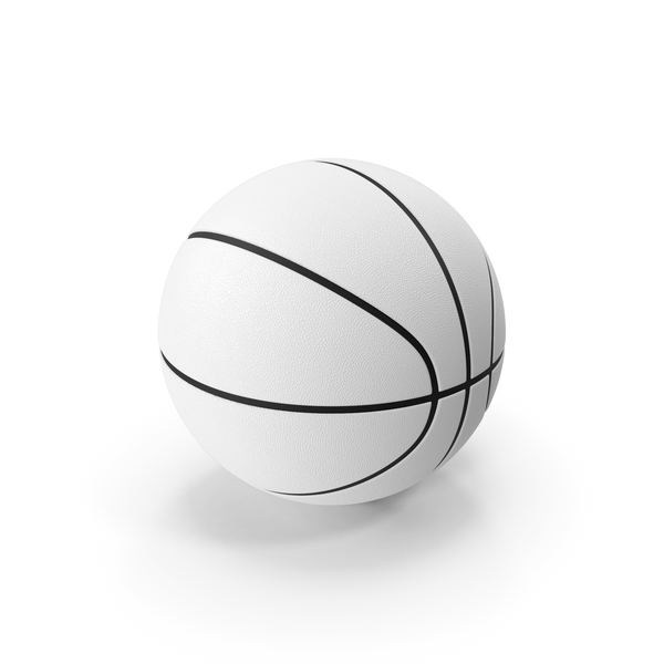 Ball: Basketball White PNG & PSD Images