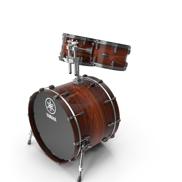 Bass Drum with Tom-Toms PNG & PSD Images