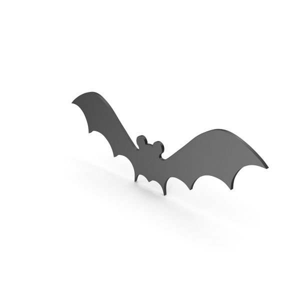 Bat Figure Black PNG & PSD Images