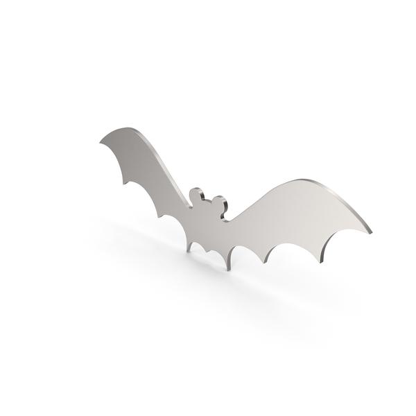 General Decor: Bat Figure Metal PNG & PSD Images