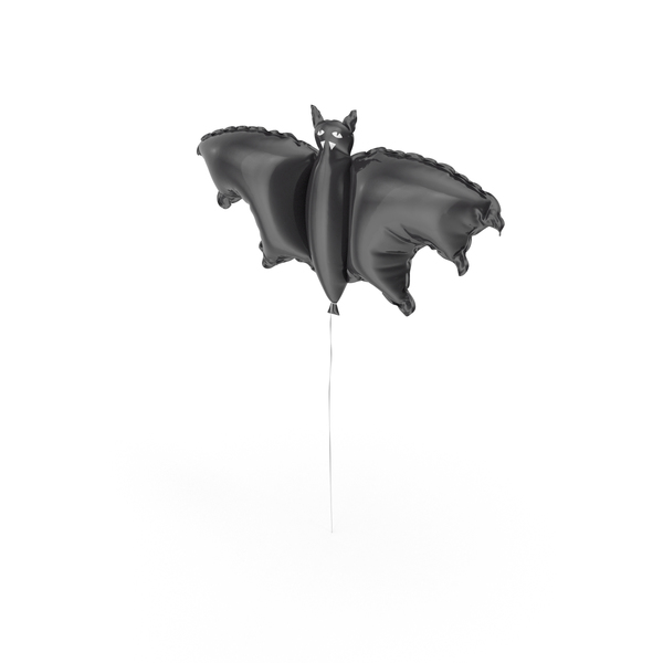 Bat Foil Balloon PNG & PSD Images