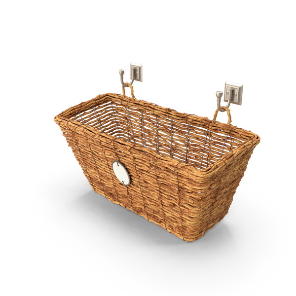 Bathroom Decor Storage Basket PNG & PSD Images