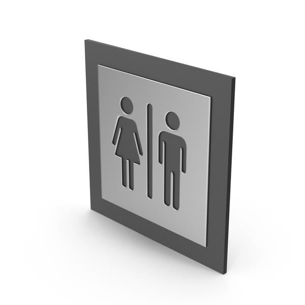 Bathroom Gender Signs PNG & PSD Images