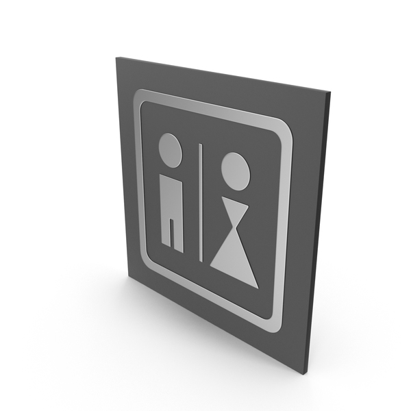 Bathroom Sign PNG & PSD Images
