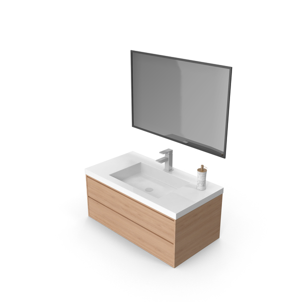 Bathroom Vanity PNG & PSD Images