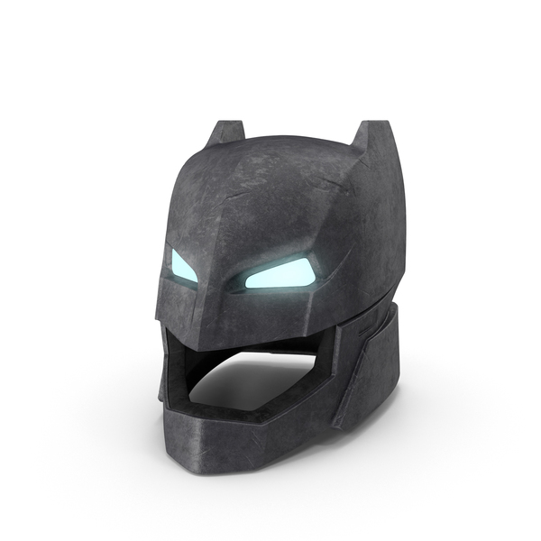 Fantasy: Batman Power Armor Helmet PNG & PSD Images