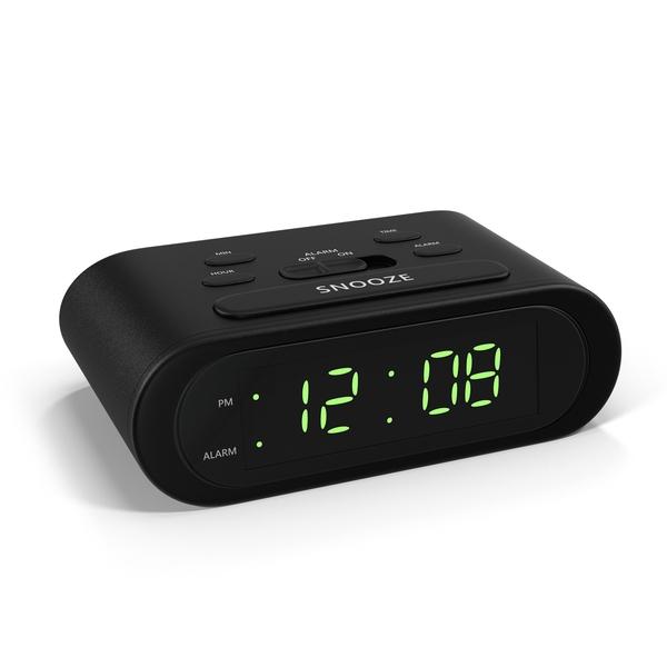 Battery Alarm Clock Object