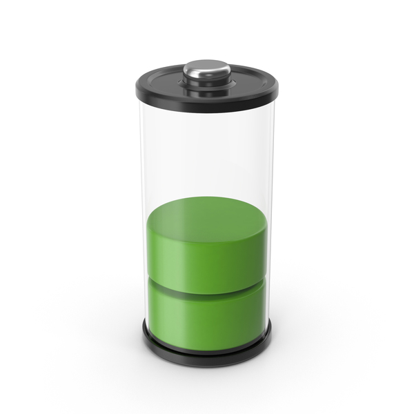 Battery Icon Green 50% PNG & PSD Images