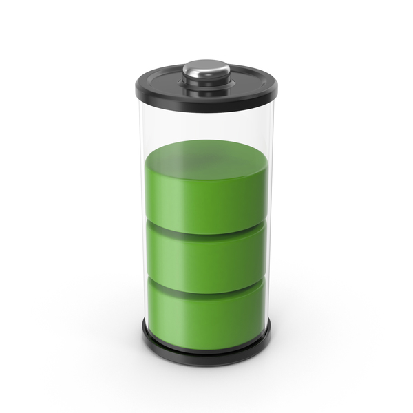 Battery Icon Green 75% PNG & PSD Images