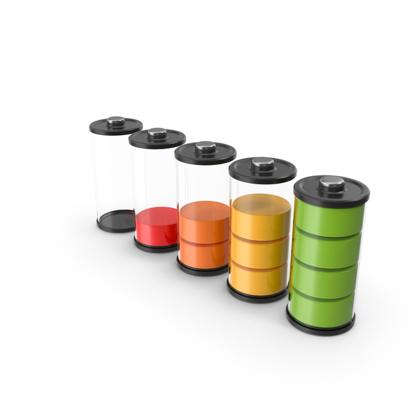 Battery Icons PNG & PSD Images