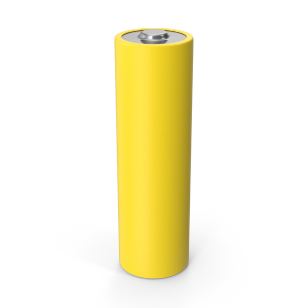 Aa: Battery Yellow PNG & PSD Images