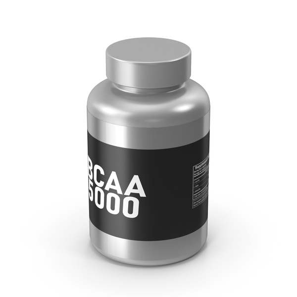 Supplement: BCAA 5000 Amino Acids PNG & PSD Images