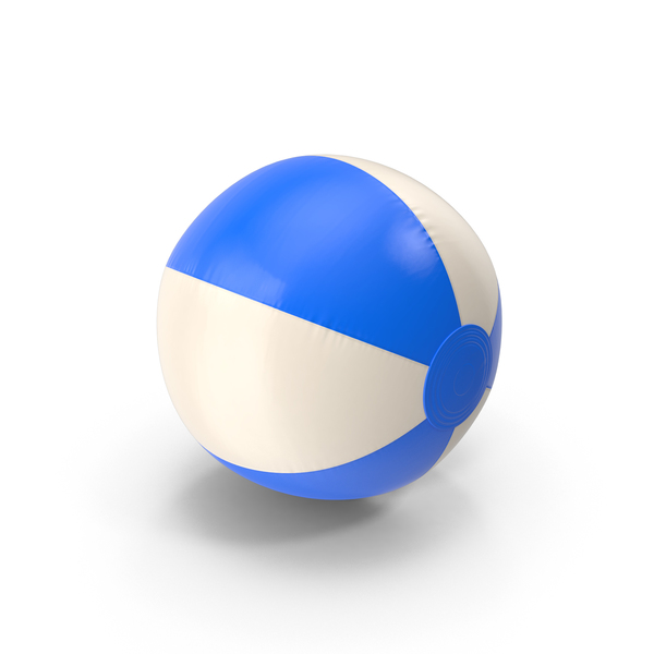 Beach Ball Blue PNG & PSD Images