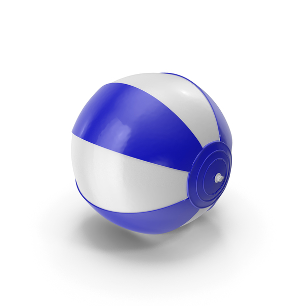 Toy: Beach Ball Dark Blue PNG & PSD Images