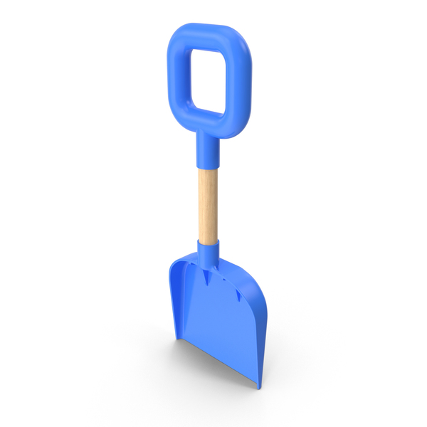 Beach Shovel Blue PNG & PSD Images