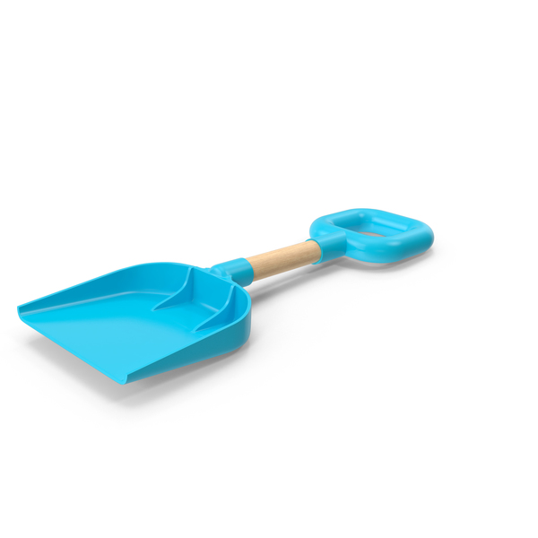 Beach Shovel Light Blue PNG & PSD Images