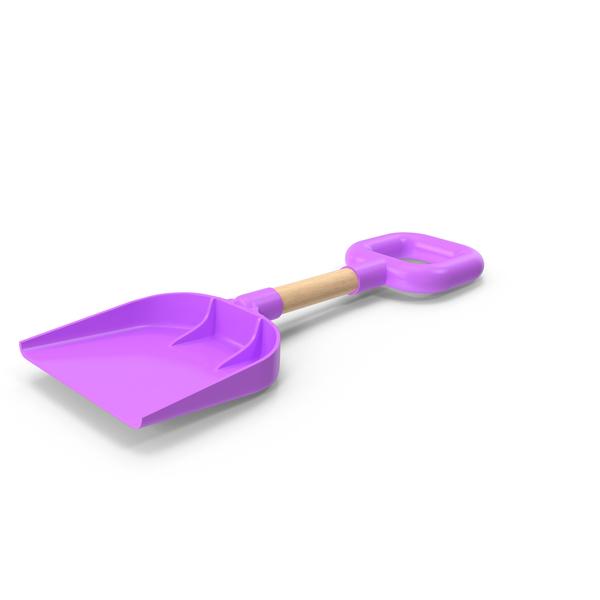 Beach Shovel Violet PNG & PSD Images