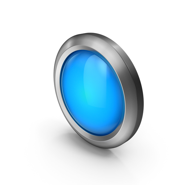 Panic Button: Bead Icon Blue PNG & PSD Images