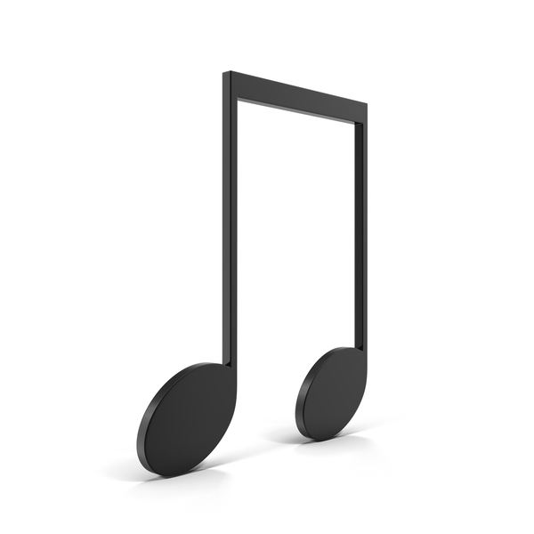 Musical: Beamed Eighth Note PNG & PSD Images