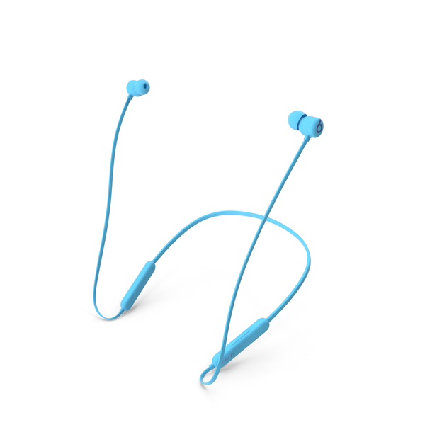 Beats Flex Wireless Earphones Flame Blue PNG & PSD Images