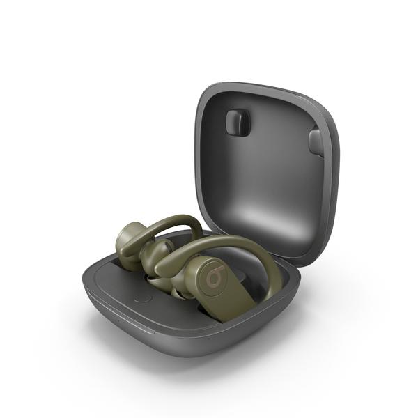 Headphones: Beats Powerbeats Pro PNG & PSD Images