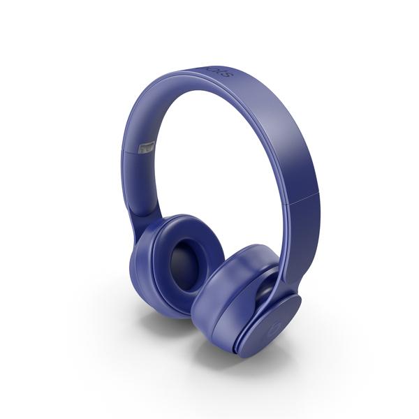 Headphones: Beats Solo Pro 2019 Blue PNG & PSD Images