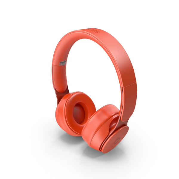 Headphones: Beats Solo Pro 2019 Red PNG & PSD Images
