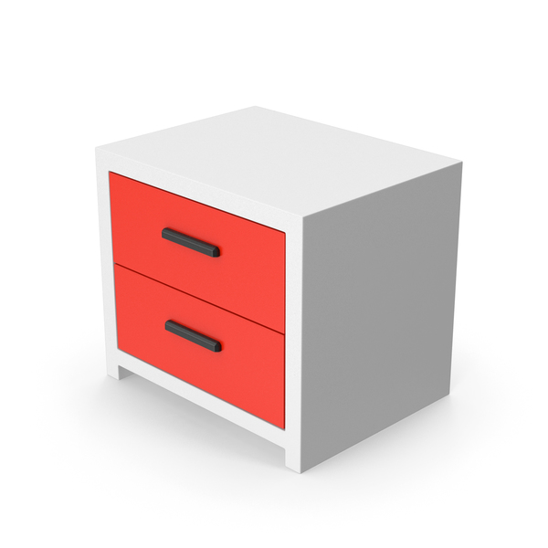 Bedroom Cabinet Red PNG & PSD Images