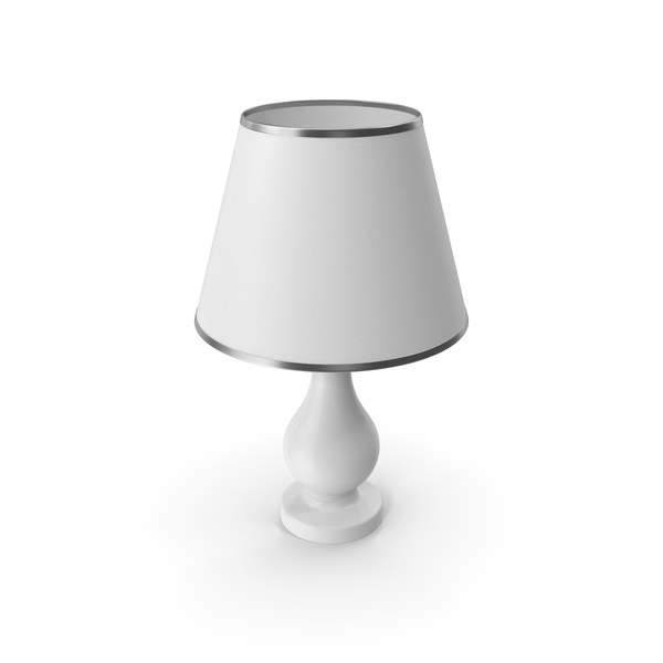 Bedroom Lamp White PNG & PSD Images
