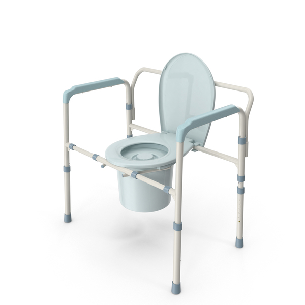 Portable Toilet: Bedside Commode Chair PNG & PSD Images