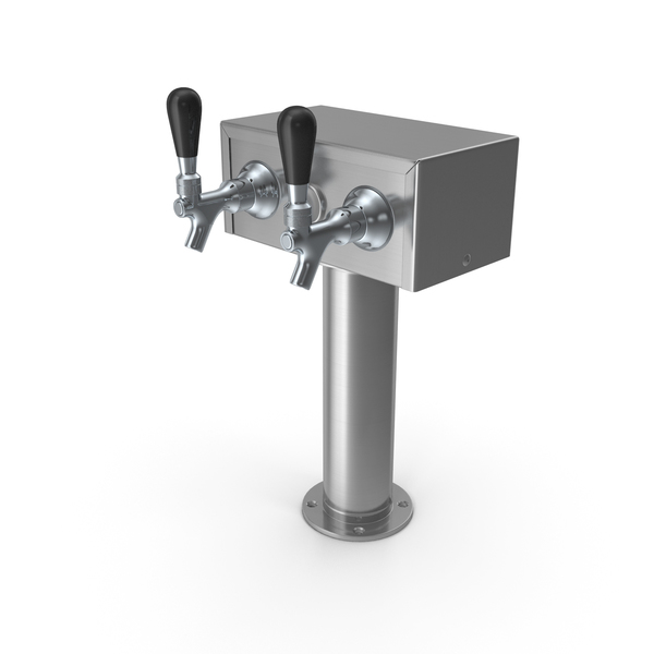 Beer Dispenser Kegerator Tower PNG & PSD Images