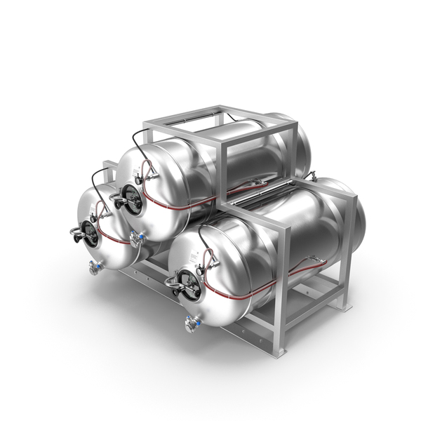 Beer Storage Tank System PNG & PSD Images