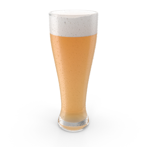 Beer with Droplets PNG & PSD Images