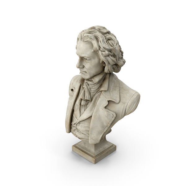 Beethoven Bust PNG & PSD Images