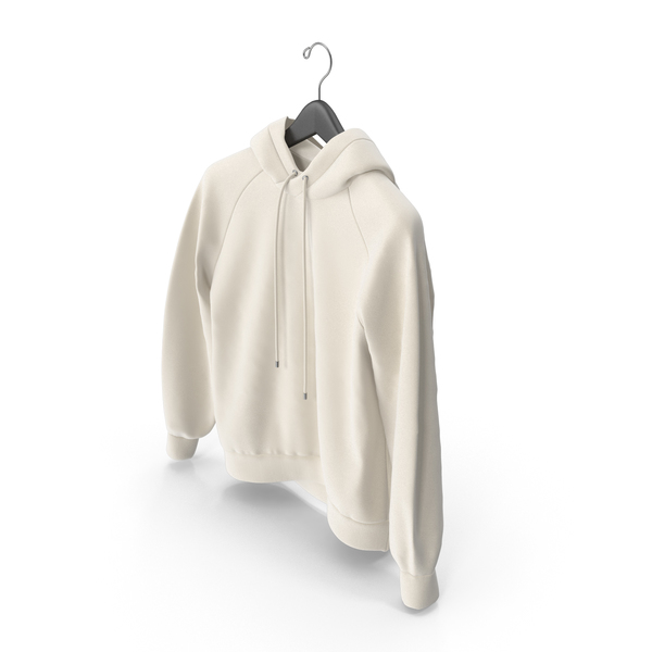 Beige Hoodie with Hanger PNG & PSD Images