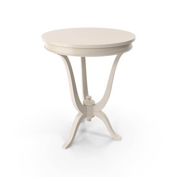 Beige Vaniglia Venetta Side Table  Round PNG & PSD Images
