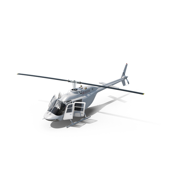 News Helicopter: Bell 206B JetRanger III PNG & PSD Images