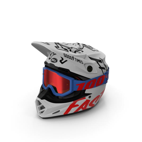 Bell Off-Road Helmet PNG & PSD Images