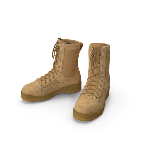 Belleville 795 Desert Waterproof Insulated Combat Boot PNG & PSD Images