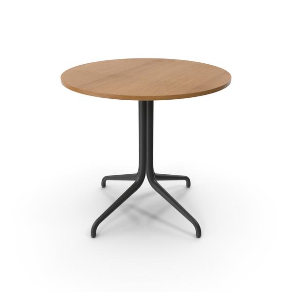 Belleville Table Bistro Vitra PNG & PSD Images