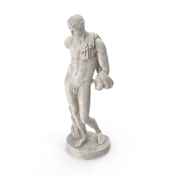 Belvedere Hermes Statue PNG & PSD Images
