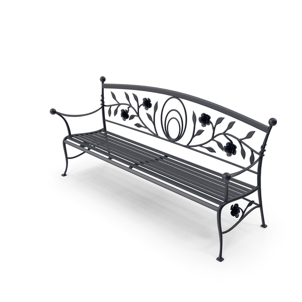 Bench forged PNG & PSD Images