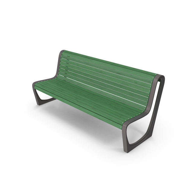Bench Green PNG & PSD Images