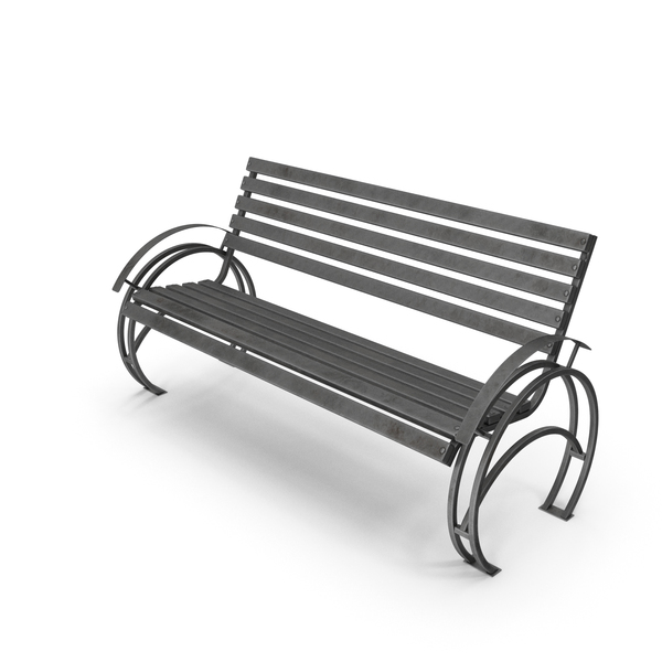 Bench Patterned Dots Old PNG & PSD Images