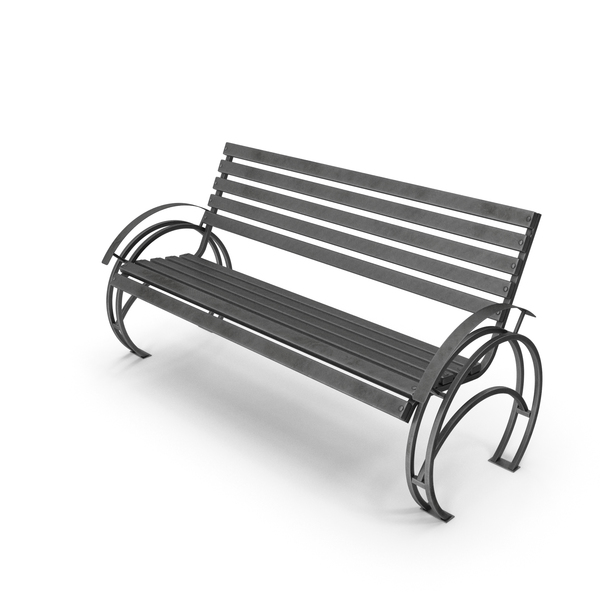 Bench Patterned Stripe PNG & PSD Images