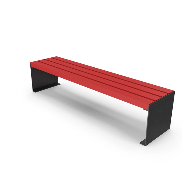 Bench Red PNG & PSD Images